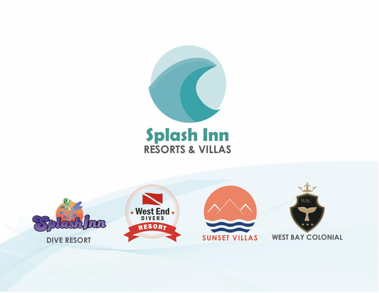 Splash Inn resorts & villas logos